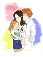 The Cullen Family by twilght-incantations