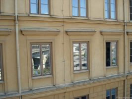 Windows of Stockholm by Kraxpelax