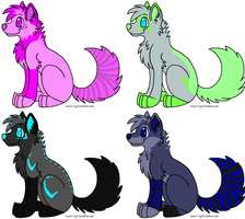 Canine adopts 1 - CLOSED by danLaplz