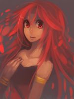 Red Girl by R-chura