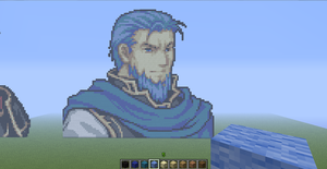 Old(ish) Hector minecraft by slygirl1999