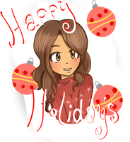 Happy Holidays by LadySelph