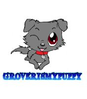 Chibi Grover by groverismypuppy