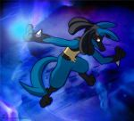 Lucario, Rivers Of Blue by Dripponi