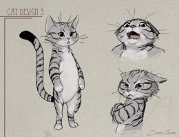 Cat concept style by JuanCaruso