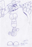 Rayman comic 14 - scrapped preview pic by SailorRaybloomDZ