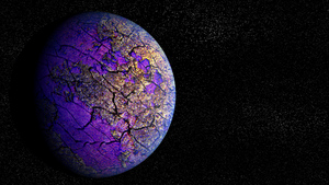 Purple Planet by Montwo219