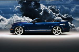 Convertible GT500 BlueWhite by lovelife81