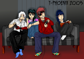 DGM: Modern Young Exorcists by Heliotrope-Housecat
