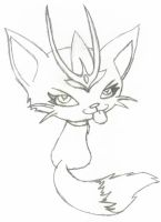 crowned kitty by shadow4life