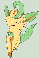 Leafeon by icestar22