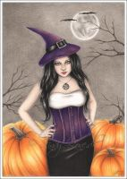 Halloween Witch by Zindy