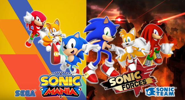 Sonic Mania and Sonic Forces (2017) by 9029561