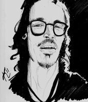 Brandon Boyd sketch by Kelley-Michelle