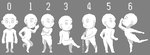 Sprite Commissions Pose Template by Shalmons