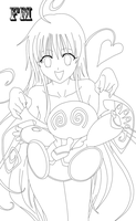 Lala Lineart 5 by FM013