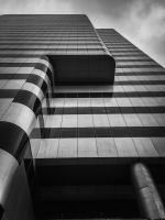 Monochrome Tower by JANorlin