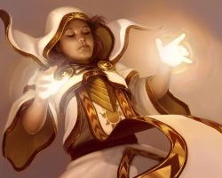 Priestess of Light by Sycra