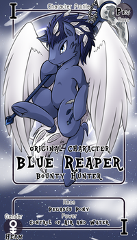 [Commission] Blue Reaper by vavacung