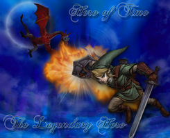 Hero of Time Wallpaper by Vanessa28