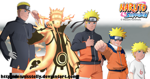 Naruto age progression by DennisStelly
