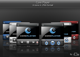 The Core Player Icons by i0d