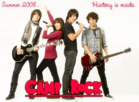 Camp Rock Wallpaper by Pink-Raspberry