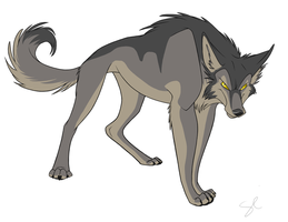 Character Design - MmmmmWOLF by shayfifearts