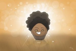 Afro Muffin by MySweetQueen