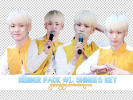 Render pack #1: SHINee's Key by shiningday