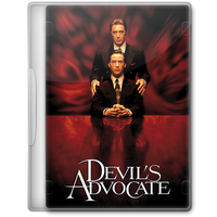 The Devil's Advocate (1997) Movie DVD Icon by A-Jaded-Smithy