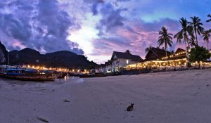 Koh Phi Phi Don, After Sunset by JBord