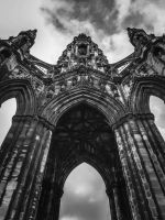 Scott Monument by JANorlin