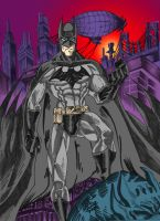 The Dark Knight Flats by JamesLeeStone