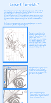 Lineart Tutorial by Beluschka