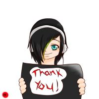 Thank You! XD by BloodyBlade123