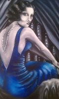 Lady in Blue by yessica83