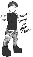 .:Request:. Destroyer Dom Human by chaosphoniex