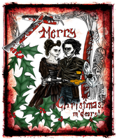 A Very Sweeney Xmas To You by mallornleaf