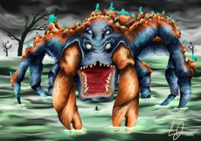 Colossal Crab by Lightsteel