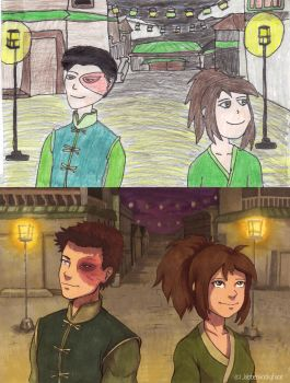 2006 vs 2017  by Jabberwockyface
