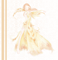 Golden Phoenix Couture by Flurryfox