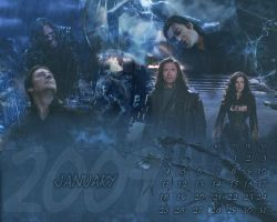 January 2009 with Van Helsing by Barbayat