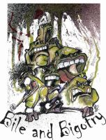 Bile and Bigotry with title by sketchoo