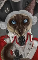 WingedSiamese Badge by VisionCrafter