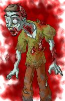 Undead Shaggy by AntManTheMagnif