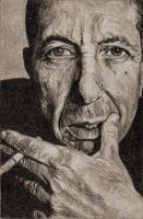 Leonard Cohen by immith