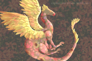 betweenrealandfake's blog dragon by lydkid