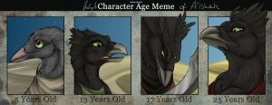 character Age meme - A'ishah by Chaluny