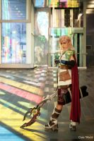 Lightning Cosplay Final Fantasy XIII by Queen-Azshara